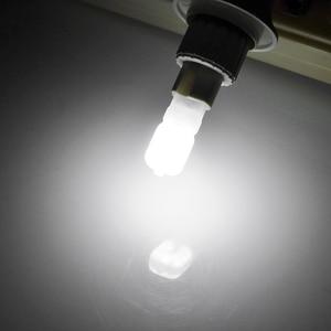 Светодиодная лампа G4/G9, 220 В перем. тока, 12 В пост. тока, SMD2835, 2 шт./набор