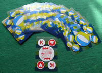 Free Shippinghigh Waterproof Transparent Plastic Pvc Poker High Quality Matt Feelling 58x88 Playing Cards Novelty Present