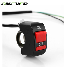 Flameout-Switch Motor Motorcycle-Handlebar Atv-Bike Universal On-Off-Button Onever