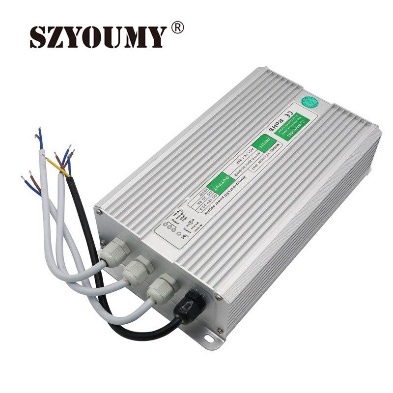 SZYOUMY 5 pièces 12 V 250 W 20.8A Imperméable IP67 alimentation LED Pilote D'alimentation Transformateur Pour LED Bande Lumière AC 170 ~ 250 V à DC 12 V
