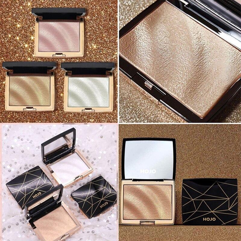 Face Makeup Highlighter Bronzers Palette Glow Kit Facial Contour Shimmer Powder Body Brighten Illuminator Highlight Cosmetics 5