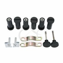 Quick Release Mount Lower Vented Fairing Mounting Hardware Kit Fit For Harley Touring Models 14-18