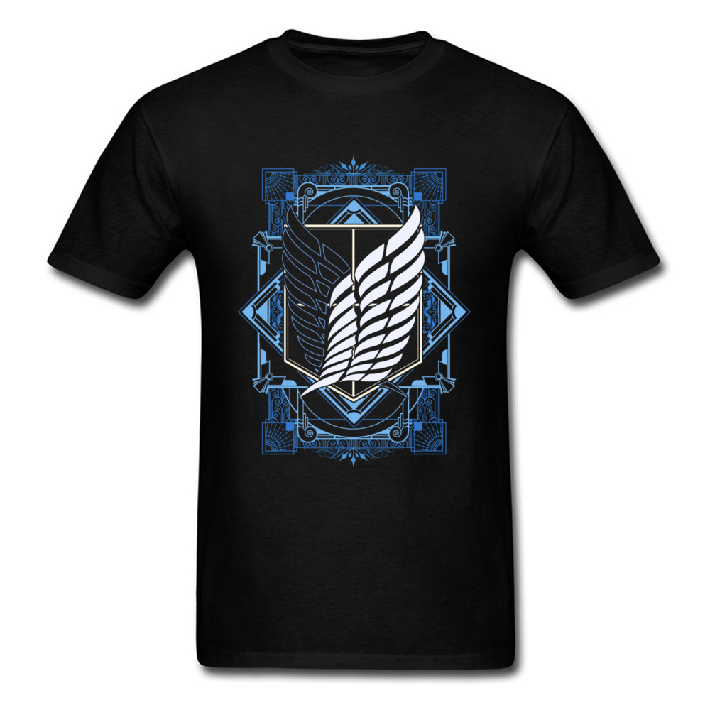 Attack On Titan 2018 Summer Cool Black T shirt Men T ...