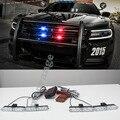 4x4/led DRL LEVOU Ambulância Polícia Luz 12 V Luz de Advertência do Estroboscópio 4 em 1 Remoto Sem Fio Car Truck Luz Intermitente Bombeiros luzes