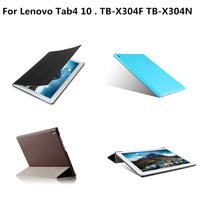 Fashion PU Leather Case For Lenovo TAB 4 10 Protective Stand Cover For Lenovo Tab4 10
