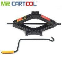 Mr Cartool Car Jacks Scissor Jack 1.5 Ton Hand Crank Jack Lifting Rod Car Crank Bar Bold