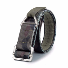 Simple Tactical Belt Military Mens Combat Rescue Rigger Duty Outdoor Equipment Nylon Battle Fastening Tape Belts n35