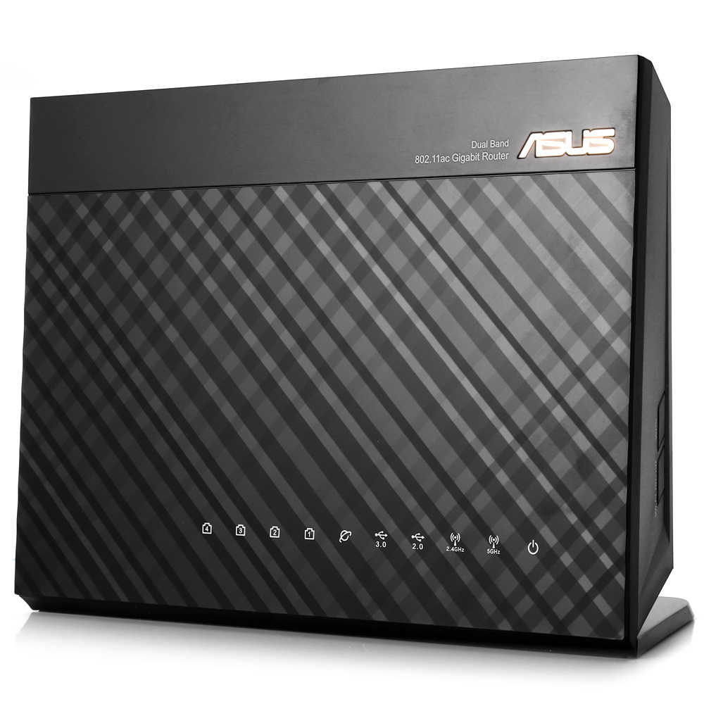 ASUS RT-AC68U AC1900 Wireless Router 1300Mbps + 600Mbps WIFI 802 11ac WIFI  Router MU-MIMO AiMesh Adaptive QoS