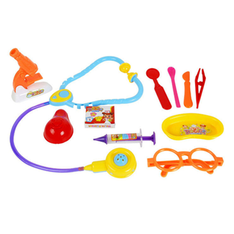 Doctor Set kit Pretend Doctor Role Play Medical Kit Doctor Set Medicine Box Role Play Christmas gift for kids