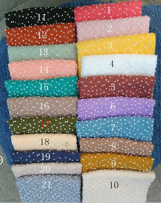 150*150 cm Knit Bobble Avvolge Mini Piccole perle Sfera Avvolge Neonato Fondali Fotografia Sfondo Neonato Fotografia Puntelli Coperta