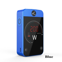 Kangertech Pollex Box MOD 200W VW/TC Mode Box Mod Built-in 3500mAh Battery 2.4 Inch Touch Screen for RTA Tank