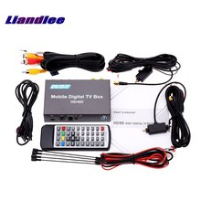 Liandlee Car Digital TV DVB-T Receiver D-TV Mobile HD Turner Box / 2 Signal Antenna Suitable For Driving Model DVB-T238