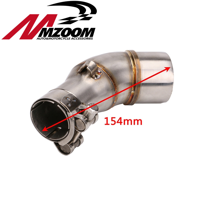 Pipe Escape Moto Kawasaki Z250sl Connecting Muffler for Front-Link