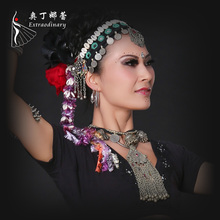 Colorful Shell Dancing Accessory Headwear Jewelry Adult Women s Stage Performance Dancing Accessories Jewelry Headwear ATS01090