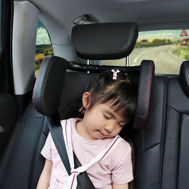รถ Headrest คอหมอนคอ REST ที่นั่งเบาะ Pad หัวป้องกันความปลอดภัยเดินทางที่นั่งรองรับส่วนที่เหลือคอ