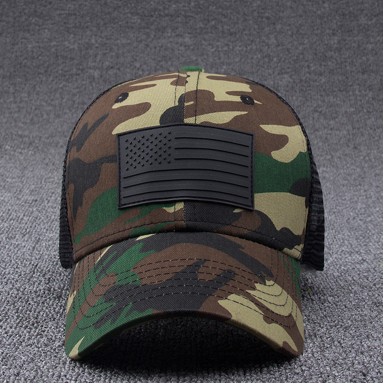 afe14011502 LGFD201754 men and women summer mesh camo Stars and Stripes HIP HOP US FLAG  snapback Camouflage baseball cap-in Baseball Caps from Apparel Accessories  on ...