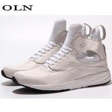 Oln Для мужчин кроссовки Открытый Бег супер свет долго расстояние запуска прогулочная обувь Для мужчин обувь открытый спортивная марка Allmatch