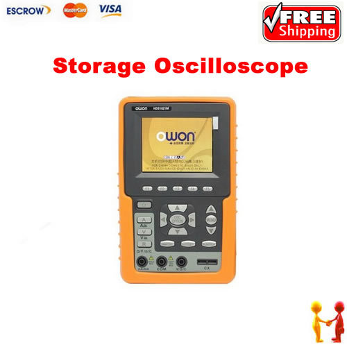 OWON HDS1021M Digital Storage Oscilloscope DSO 1 Channel 20 MHz Scopemeter 100 MSa/s осциллограф owon hds1021m