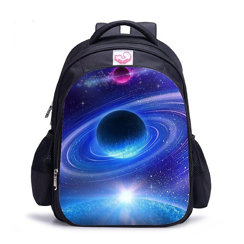 2019 School Bag Children Backpack Boys Girls Galaxy Space Backpacks Kids Baby's Bags Children Rucksack Teenager Bookbag