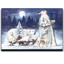 5D DIY Diamond painting Cartoon Mosaic Cross Stitch Full Square Drill 3D Painting kit Home Decoration Gifts Polar bear