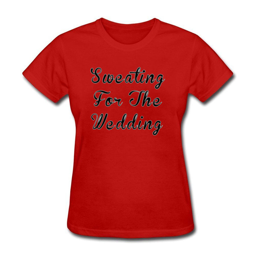 Sweating For The Wedding Funny T Shirt Design T Shirt Cute 2018