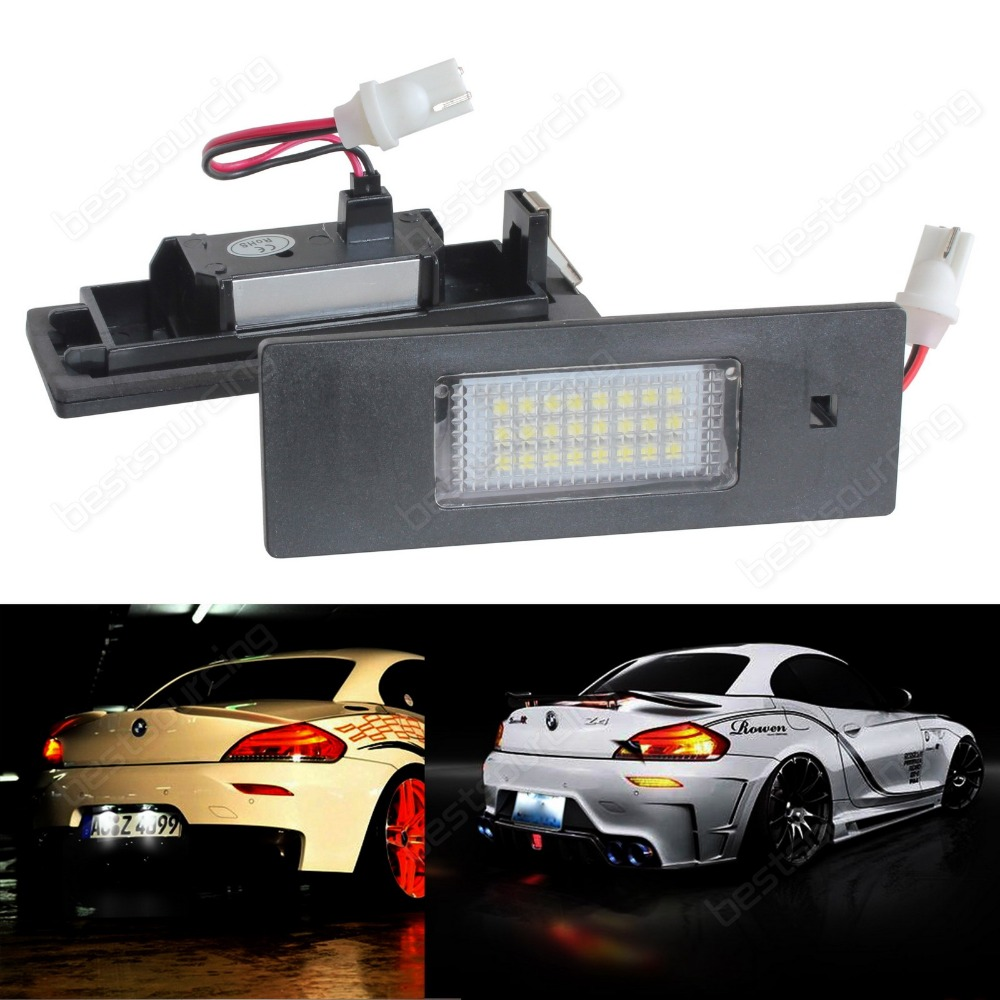 E81 E87 F20 E63 F12 E85 E89 i3 LED Licence Number Plate Light White No Error(CA245) vinon fdr 1500va стабилизатор напряжения