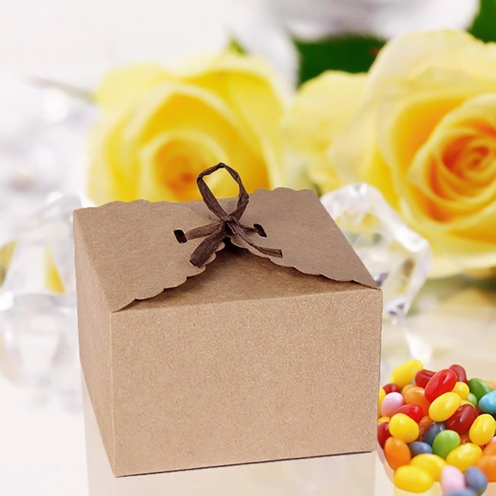 12 Teile/satz Retro Mini Kraftpapier boxen DIY Hochzeit ...