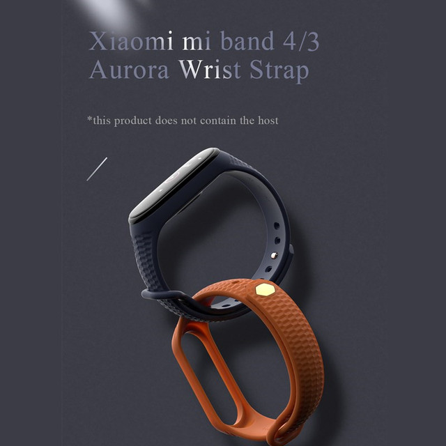 Mode mi bande 4 sangle Silicone Bracelet de poignet pour Xiao mi bande 3 sangle accessoires mi bande 3 bracelets intelligents mi bande 4 2