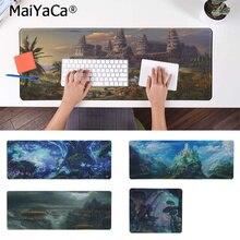 MaiYaCa New Design Fantasy  Rubber Mouse Durable Desktop Mousepad Free Shipping Large Pad Keyboards Mat