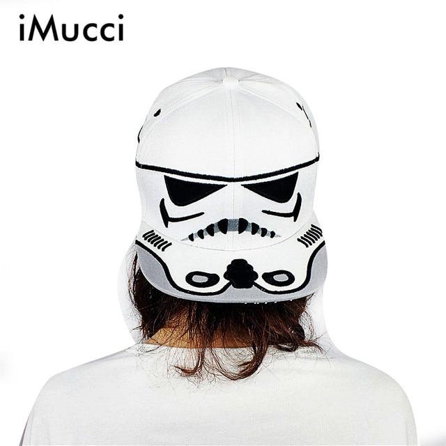 iMucci 2017 Fashion Cotton Brand Star Wars Snapback Caps Cool Strapback  Letter Baseball Cap Bboy Hip 2629bf8c7e6a