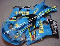 Лидер продаж, RIZLA ABS мотоциклов Обтекатели для Suzuki GSXR600 GSXR750 1996 1997 1998 1999 2000 GSXR 600 750 96 97 98 99 00 Body комплект