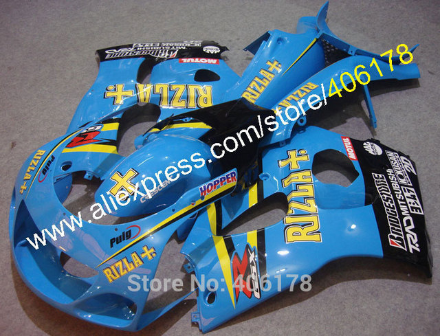 Hot SalesRIZLA ABS Motorcycle Fairings For Suzuki GSXR600 GSXR750 1996 1997 1998 1999 2000 GSXR 600 750 96 97 98 99 00 Body Kit
