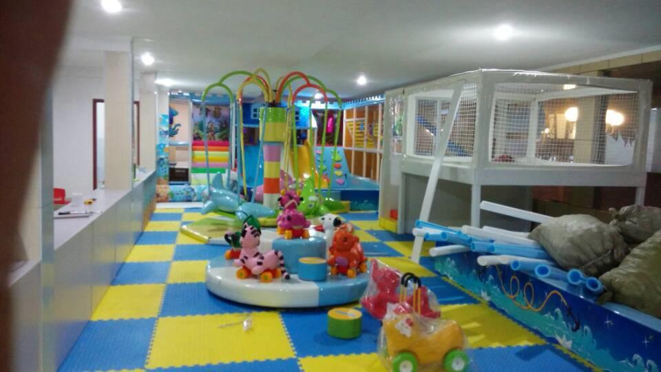 China Soft play zone children foam indoor playground for home ...