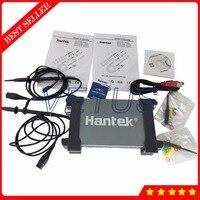 Hantek6082BE 80 мГц 250 мс/с 2 канала аналогового осциллограф на базе ПК USB портативный osciloscopio поверхности алюминиевого сплава