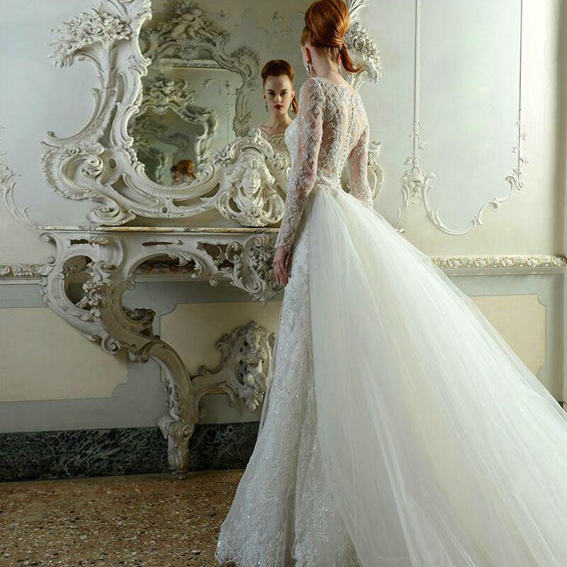 Erfreut Spitzenkleid Hochzeit Fotos - Brautkleider Ideen - cashingy.info
