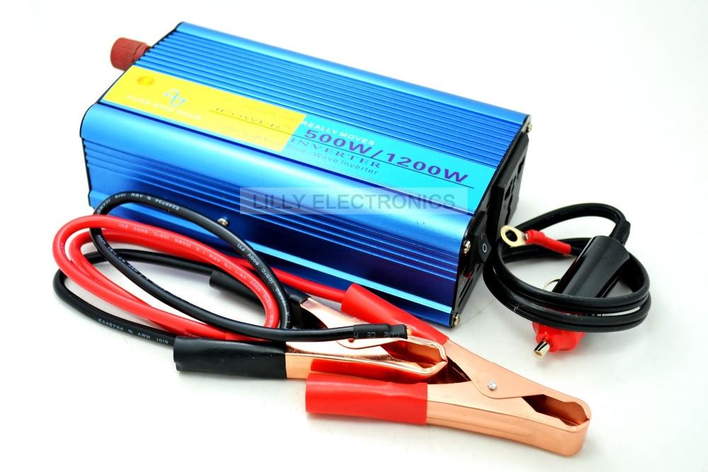 ФОТО Pure Sine Wave Inverter 500W EG8010 Control Chip + EGS002 Driver Board