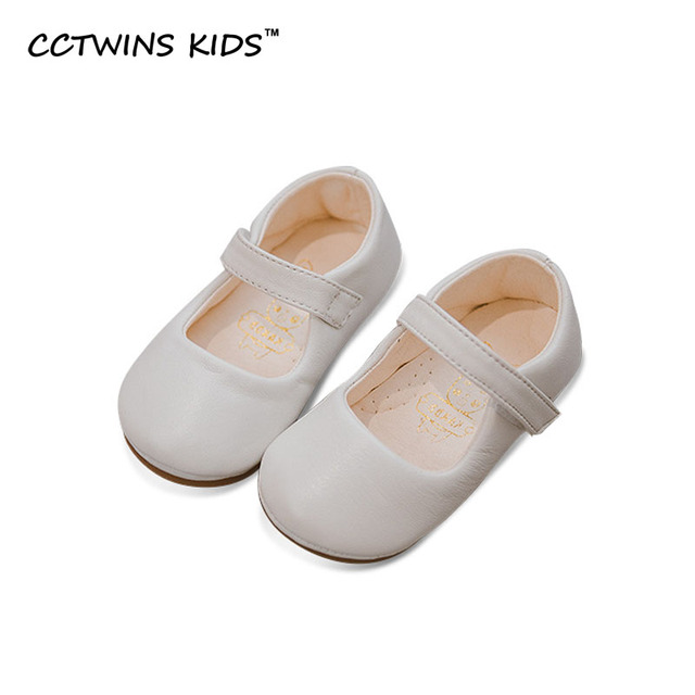 CCTWINS KIDS 2017 Spring Autumn Toddler Strap Child Fashion Baby Girl Brand Flat Mary Jane Princess Party Dance Kid Flat G1033