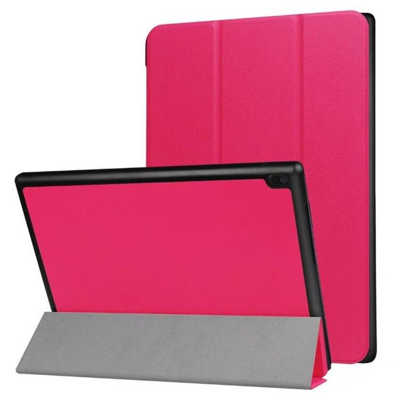 For Lenovo Tab 4 10 / 10 Plus TB-X304N TB-X304F TB-X704N TB-X704F TB-X304 TB-X704 X304F Tablet Case Bracket Flip Leather Cover ножницы для живой изгороди 10 truper tb 17 31476