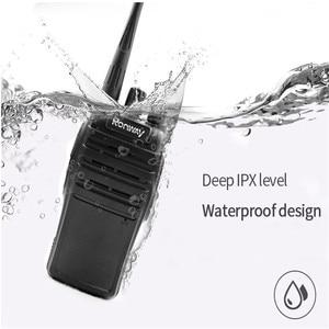 Image 3 - F 3S New Walkie talkie Professional Civilian Waterproof 5W Power Security Portable Radio Self driving Office Hotel Walkie Talkie