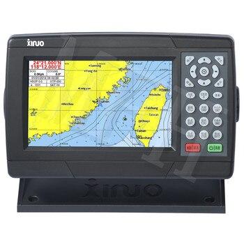 Navegación marina, gps, 7 pulgadas de nueva XF-608 de navegación satelital Marina GPS