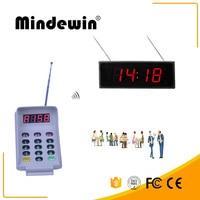 Windewin система организации очередей Многофункциональный M-H-D1 двойной дисплей больничный дисплей показывает электронный светодиодный номер ...
