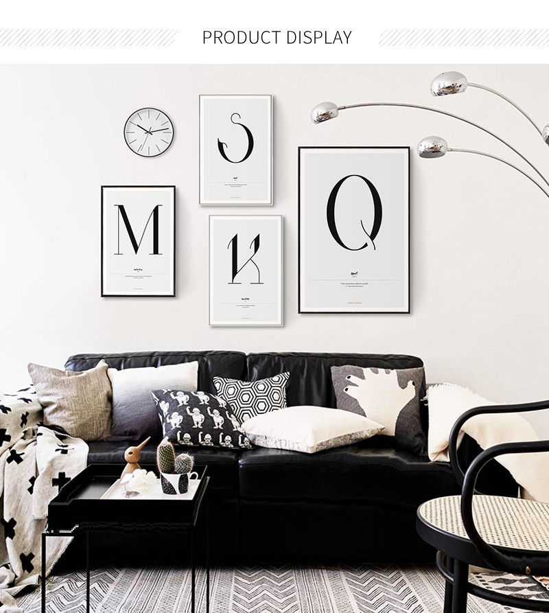 HTB14eU.UkvoK1RjSZFwq6AiCFXaF Quote Words Nordic Art Home Decor Nordic Canvas Painting Wall Art Kids Bedroom Posters and Prints for Living Room Wall Painting