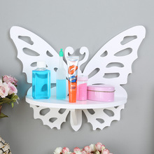 JUCESUPER Creative Storage Rack Of Debris Wall Decorative Rack Creative Modelling Hook Type Punch-free Free Assembly