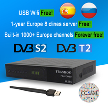 Get more info on the Fraskoo F9 Plus DVB S2 T2 Combo Satellite Receiver Full HD 1080P H.265 Terrestrial TV Digital Set-top Box Support EPG Youtube