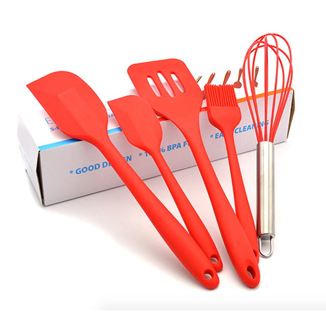 5kind authentic safe kitchen silicone cooking tools fdalfgb 5kind authentic safe kitchen silicone cooking tools fdalfgb authenticate material utensils hygienic solid coating thecheapjerseys Choice Image