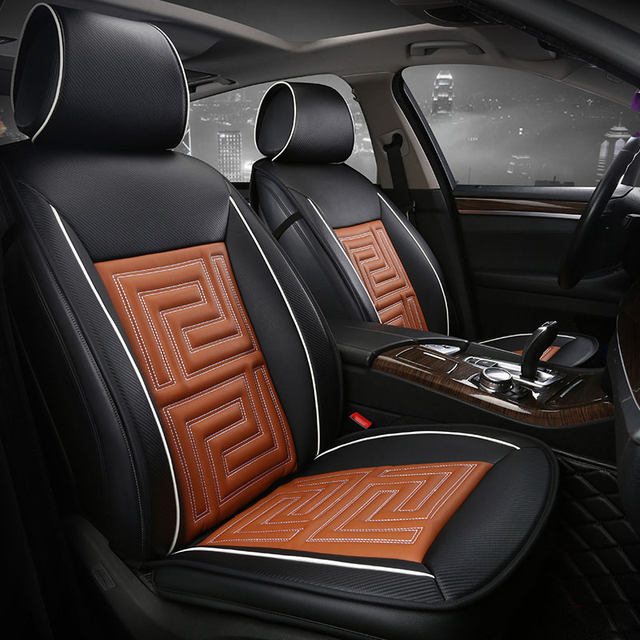 Online Shop Car Seat Cover Seats Covers Leather For Honda Pilot