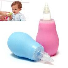 Детский силиконовый ингалятор для чистки носа для младенцев, средство для мытья носа, для предотвращения обратного потока, аспиратор, чистящее средство для младенцев
