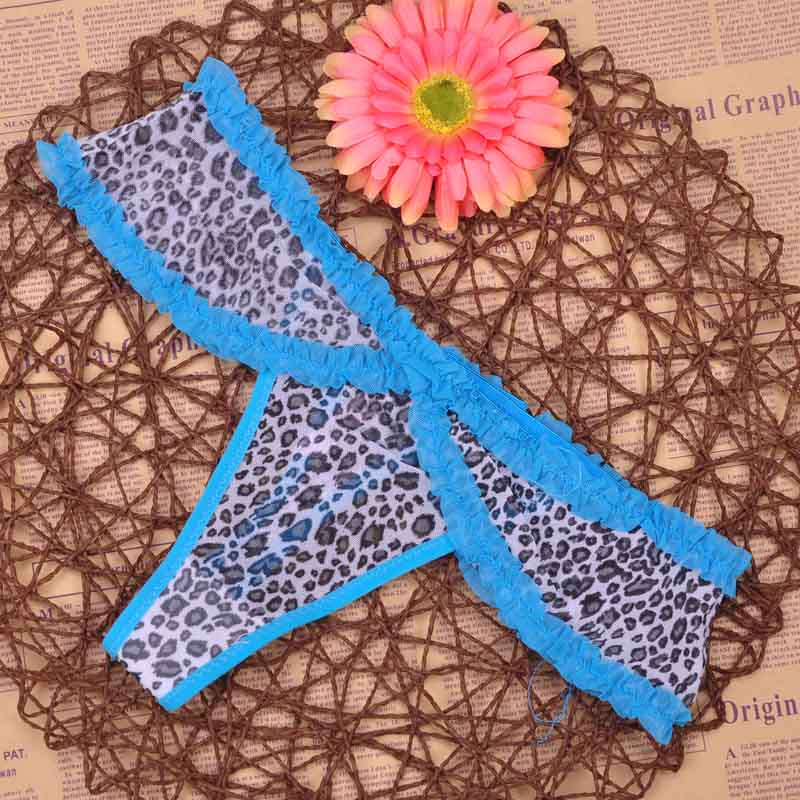 New multi-color Sexy cozy comfortable Lace Briefs thongs Underwear Lingerie for women 1pcs ac11