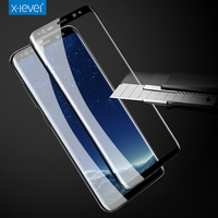 X-level 9H 3D 0.2mm Full Screen High Definition Thin technology For Samsung Galaxy S8 S8 Plus tempered glass