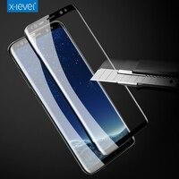 X-nivel 9 H 3D 0.2mm Pantalla Completa De Alta Definición la tecnología Ultra-delgada Para Samsung Galaxy S8 S8 Más vidrio templado